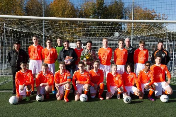 KVC Oranje in het nieuw